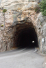 Recta final Puig Major (Soller) tunel puig major